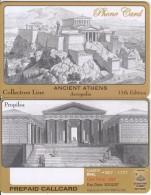 GREECE - Ancient Athens(Acropolis), Collectors Line Prepaid Card, Tirage 500, Exp.date 20/02/07, Sample - Greece