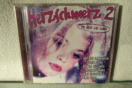 """2 CD """"Herzschmerz 2"""" The New Sad Songs - Hit-Compilations"""