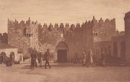 SYRIE---DAMAS--JERUSALEM---the Damascus Gate---(SOLDATS )--voir 2 Scans - Syrie
