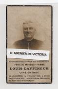 Souvenir Pieux De L' Abbé Louis Laffineur Curé émérite 1855 - 1922 - Bailièvre - Chimay - Santini