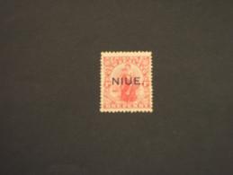 NIUE - 1918/21 ALLEGORIA  1 P. - NUOVO(+) - Niue