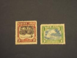 NIUE - 1945 ALBERI/VEDUTE 2 VALORI - NUOVI(++) - Niue