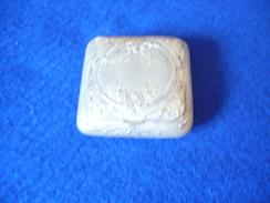 Pillendose Silber - Innen Vergoldet (314) - Silberzeug