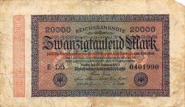 Zwanzigtausend Mark 1923 - [ 3] 1918-1933 : République De Weimar