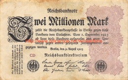 Zwei Millionen Mark 1923 - 2 Millionen Mark