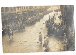 ZWEIBRUCKEN DEUX PONTS (Allemagne) Carte Photo Entrée Des Troupes Du 32è Corps D'armée 1918 - Zweibruecken