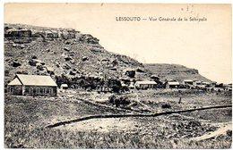 CPA AFRIQUE - LESOTHO - LESSOUTO - Vue Generale De La Sebapala - Lesotho