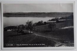 Camp De Vaumarcus - Vue Sur Le Lac Et Les Alpes - (n°6728) - NE Neuchatel