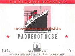Paquebot Rosé - Bateaux