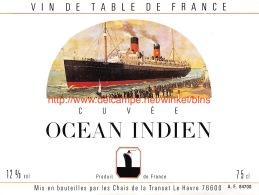 Cuvée Océan Indien - Bateaux