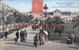 1906 Casino Et Jardins Des Palmiers - Nice - Monumenten, Gebouwen