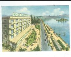 CPSM  Italie Stresa Lago Maggiore Hotel Bristol Villa Glicine Neuve TBE - Non Classificati