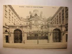 Carte Postale Belgique Bruxelles Palais Du Comte De Flandre (Petit Format Non Circulée) - Monumenten, Gebouwen