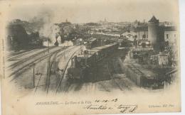 ANGOULEME - La Gare Et La Ville (train ) - Angouleme