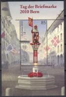 2010 Zu 1372 / Mi Bl 46 Journée Du Timbre ** / MNH SBK 5,- - Blocs & Feuillets