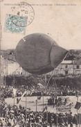 VITRY LE FRANÇOIS // 15 Juillet 1906 // ENLEVEMENT DU  BALLON - Vitry-le-François
