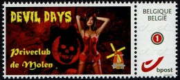 Belgie - Priveclub De Molen - Devil Days - Erotic - Private Stamps