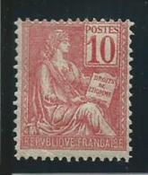FRANCE: *, N°112, B - 1900-02 Mouchon