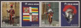 1997 Vatikan   Mi. 1207-8** MNH Europa: Sagen Und Legenden. - Ungebraucht