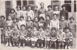 """Photo Originale (11) Ecole De CASTELNAUDARY Groupe D' Ecolières Années 60 """"Roselyne à L'âge De 8 Ans"""" (2 Scans) - Anonyme Personen"""