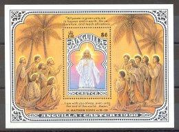 Anguilla - 1990 Easter Block MNH__(TH-17271) - Anguilla (1968-...)