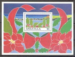 Anguilla - 1991 Christmas Block MNH__(TH-17272) - Anguilla (1968-...)