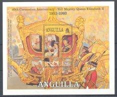 Anguilla - 1993 Queen Elizabeth II Block MNH__(TH-1118) - Anguilla (1968-...)
