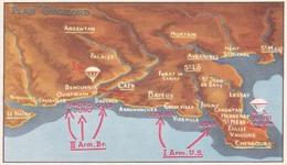 DEBARQUEMENT // 6 Juin 44 // LA CARTE - Guerre 1939-45