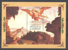 Antigua - 1985 Christmas Block MNH__(TH-16912) - Antigua En Barbuda (1981-...)