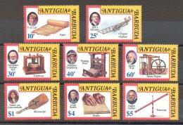 Antigua - 1992 Inventors MNH__(TH-17449) - Antigua Et Barbuda (1981-...)