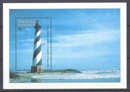 Antigua - 1998 Lighthouses Block MNH__(TH-17118) - Antigua Y Barbuda (1981-...)