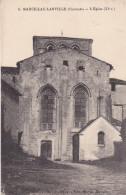 MARCILLAC LANVILLE EN CHARENTE L'EGLISE CPA CIRCULEE VOIR VERSO - Frankreich
