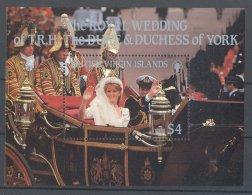 British Virgin Islands - 1986 Prince Andrew Block MNH__(TH-17062) - British Virgin Islands