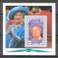 British Virgin Islands - 1990 Queen Mother Block MNH__(TH-16765) - British Virgin Islands
