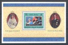 British Virgin Islands - 1997 Queen Elizabeth II Block MNH__(TH-16819) - British Virgin Islands