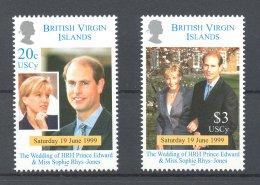 British Virgin Islands - 1999 Prince Edward MNH__(TH-16759) - British Virgin Islands