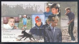 British Virgin Islands - 2000 Prince William Block MNH__(THB-5537) - British Virgin Islands