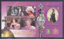 British Virgin Islands - 2002 Queen Elizabeth II Block MNH__(THB-5530) - British Virgin Islands
