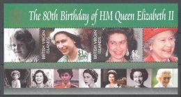 British Virgin Islands - 2006 Queen Elizabeth II Block MNH__(TH-16871) - British Virgin Islands