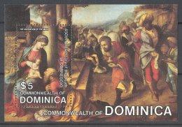 Dominica - 1984 Correggio Block MNH__(TH-17112) - Dominica (1978-...)
