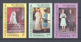 Dominica - 1986 Queen Elizabeth II MNH__(TH-16925) - Dominica (1978-...)