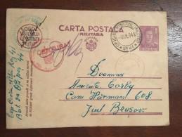 Romania - Carte Postala Militara WW II (1) - Roumanie