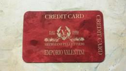 Italy - Carte Di Credito (scadenza Min. 10 Anni)
