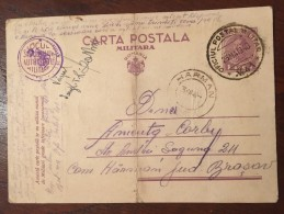 Romania - Carte Postala Militara WW II (11) - Rumania