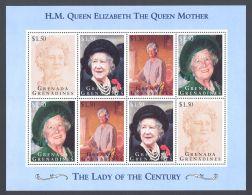 Grenada Grenadines - 1995 Queen Mother Kleinbogen I MNH__(THB-3258) - Grenade (1974-...)