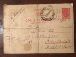 Romania - Carte Postala Militara WW II (14) - Rumania