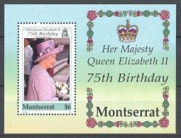 Montserrat - 2001 Queen Elizabeth II Block MNH__(TH-16838) - Montserrat