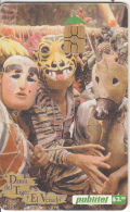 EL SALVADOR -  Dance Of The Tiger And The Deer, Chip GEM 3.3, Used - El Salvador