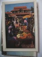 Gambia Market Panorama - Gambia