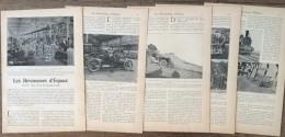 ANCIEN DOCUMENT 1905 20 ANS AUTOMOBILISME AUTOMOBILE ATELIERS PANHARD ET LEVASSOR RENAULT FRERES MONT VENTOUX - Vieux Papiers